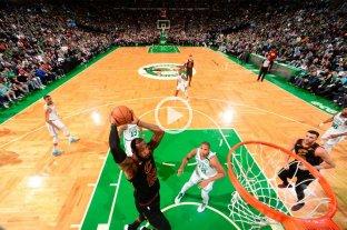 LeBron lo hizo: Cleveland es finalista de la NBA