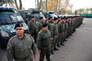 Arribaron 200 gendarmes a Rosario