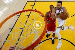 Golden State venció a Houston y llegó a las finales de la NBA