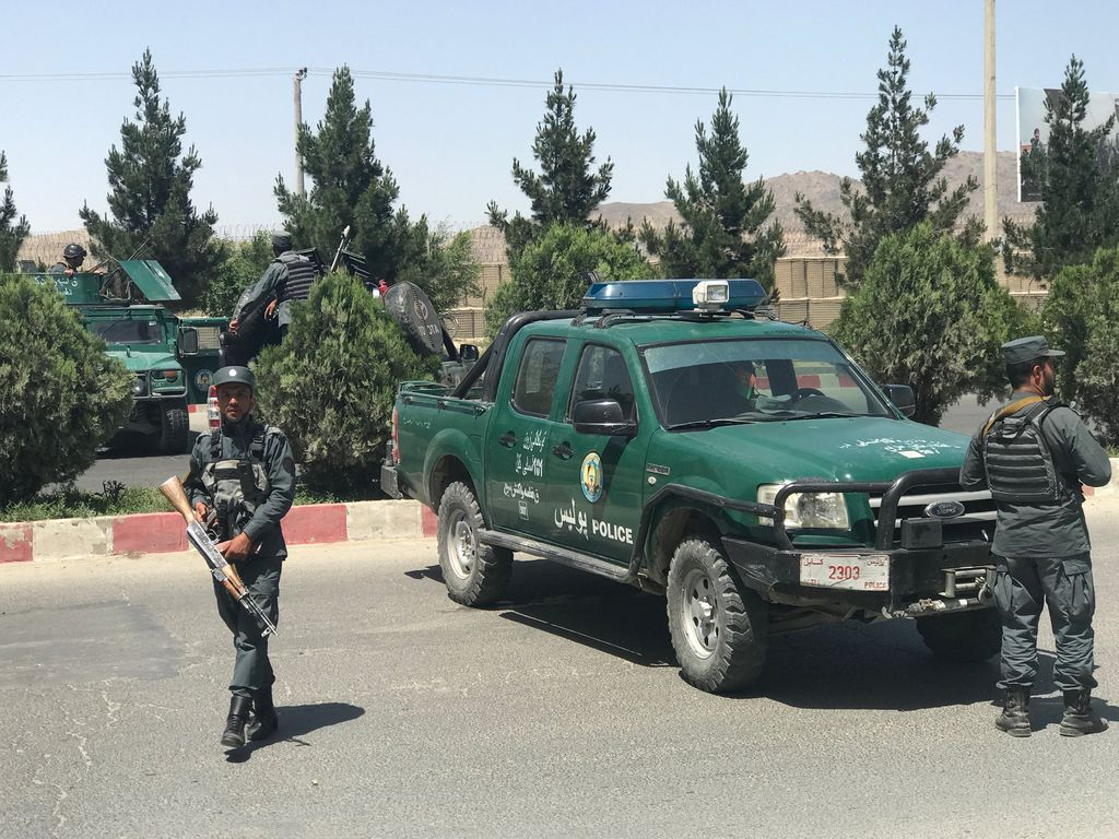 Policía afgana. <strong>Foto:</strong> Internet