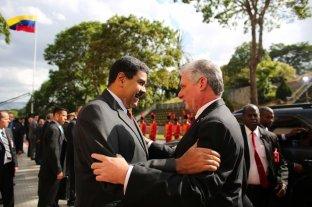 Presidente cubano expresó su apoyo a Maduro, cada vez más aislado