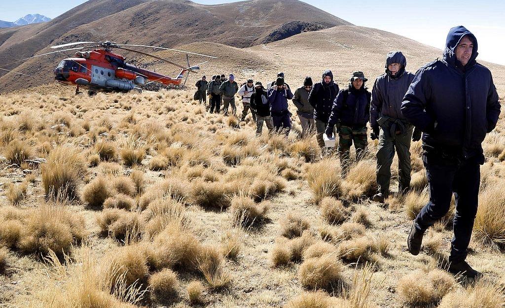 Equipo de rescate. <strong>Foto:</strong> Telam