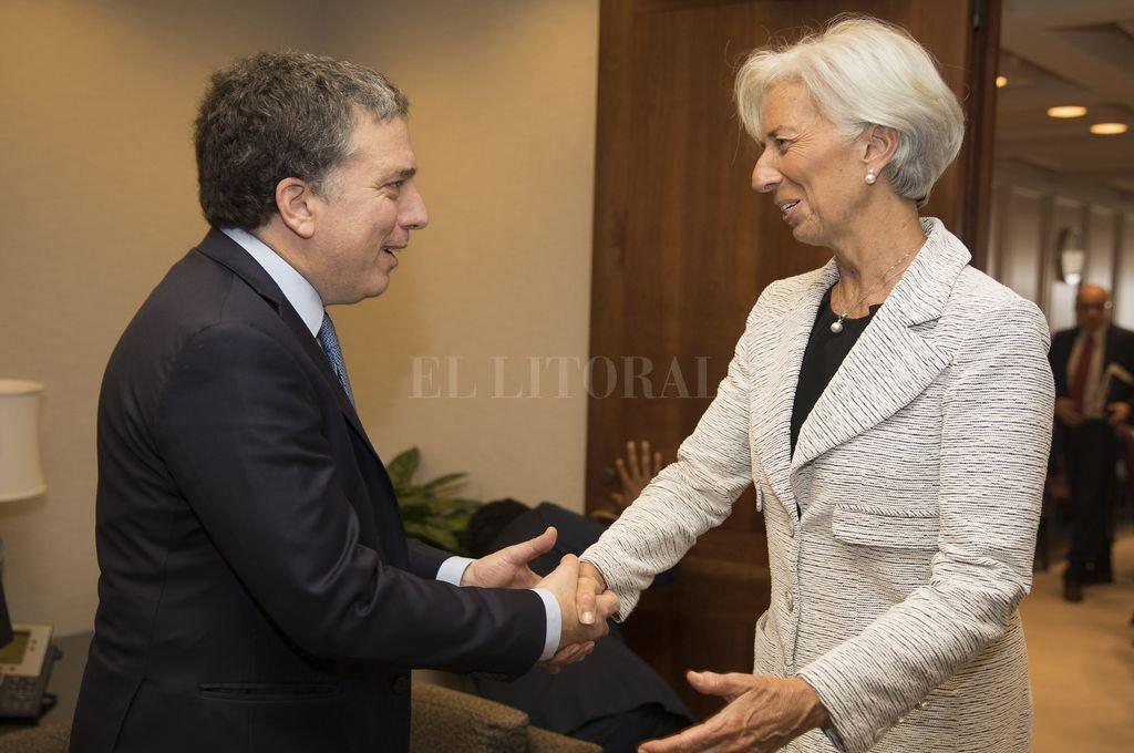Lagarde y Dujovne volverán a encontrarse esta semana para ir definiendo aspectos pendientes de resolución. <strong>Foto:</strong> Télam