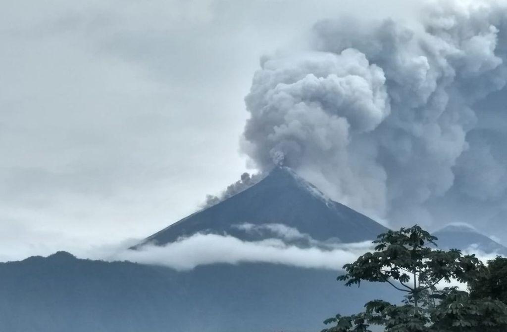 Resultado de imagen de guatemala emergencia volcan