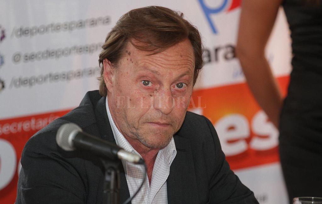 Sergio Varisco, intendente de Paraná. Crédito: Manuel Fabatia