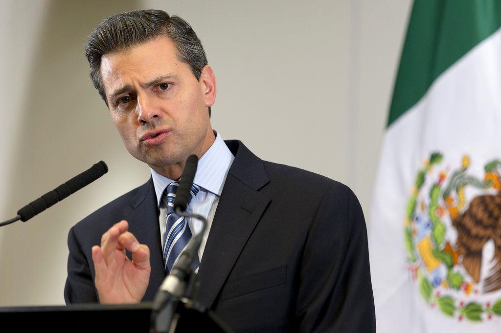 Enrique Peña Nieto, presidente de México. <strong>Foto:</strong> Internet