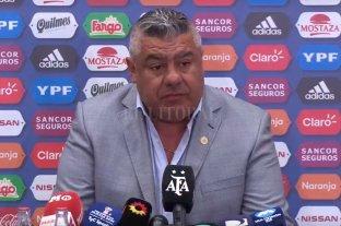 Tapia confirmó la suspensión del partido de Argentina ante Israel