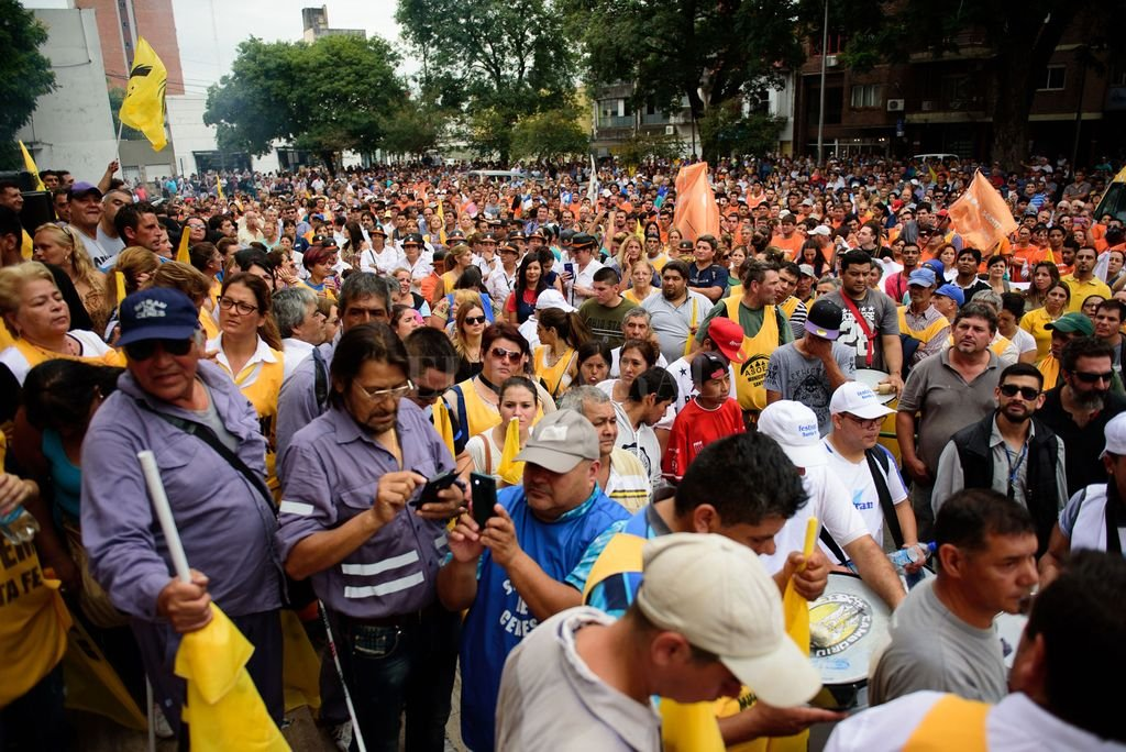 Protestas.  <strong>Foto:</strong> Archivo El Litoral