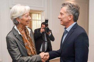 Tras el acuerdo con el FMI, Macri se reúne con Christine Lagarde