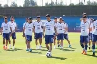 Sampaoli prueba con Lo Celso, Mascherano y Agüero