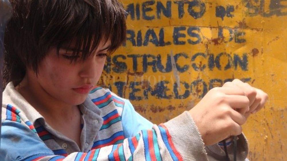 Augusto Giles de niño como Benito, el protagonista de la historia. Gentileza Gustavo Trimaglio