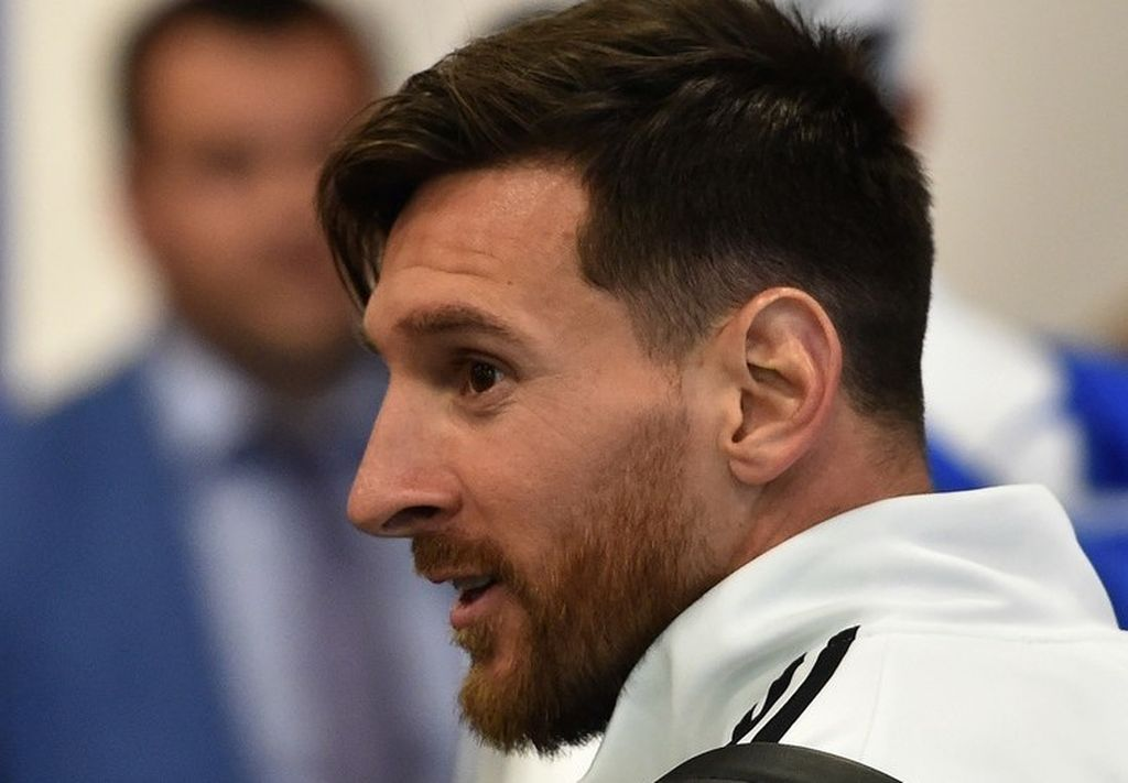 Lionel Messi.  Crédito: Internet