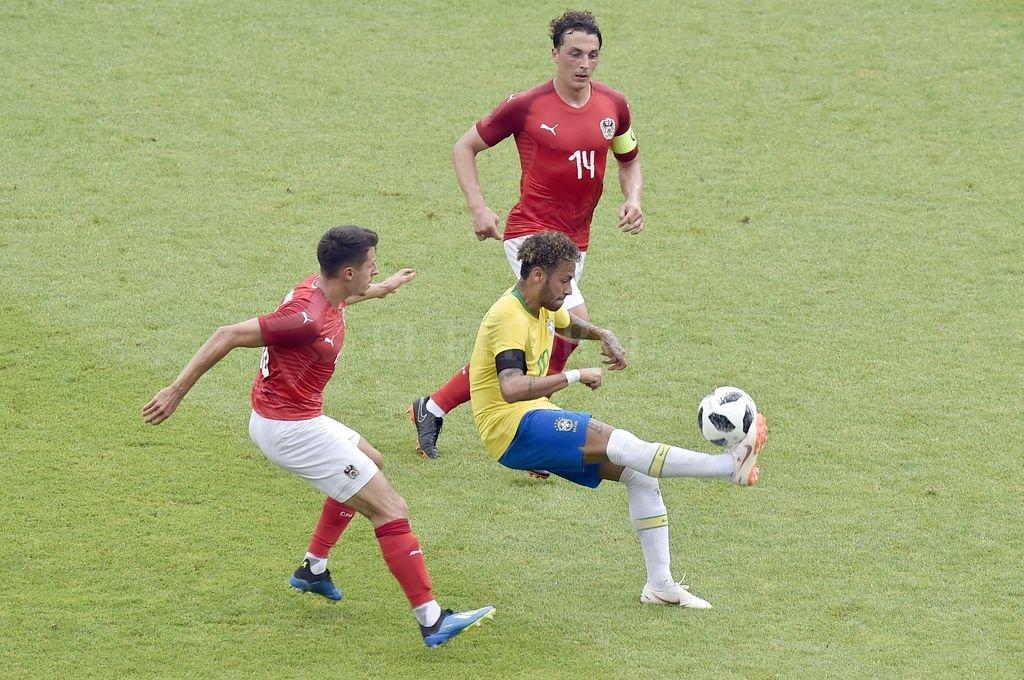 Deportes: Brasil aplastó a Austria y llega fortalecido a Rusia 2018
