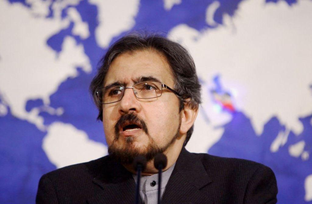 Portavoz del Ministerio de Relaciones Exteriores iraní, Bahram Ghassemi. <strong>Foto:</strong> Internet