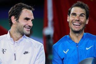 """Federer felicitó a Nadal: """"tan solo podemos hacerle la reverencia"""""""