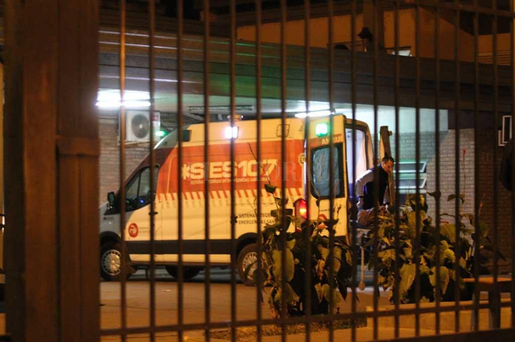 Los motociclistas lesionados fueron trasladados al Cullen Crédito: Archivo El Litoral