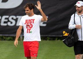 Vuelve Federer y juega este miércoles en Stuttgart