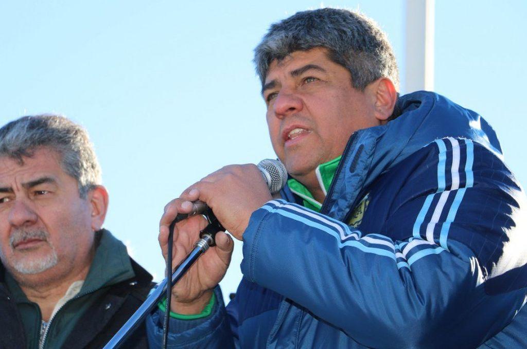 El secretario adjunto del gremio de camioneros, Pablo Moyano. <strong>Foto:</strong> Internet