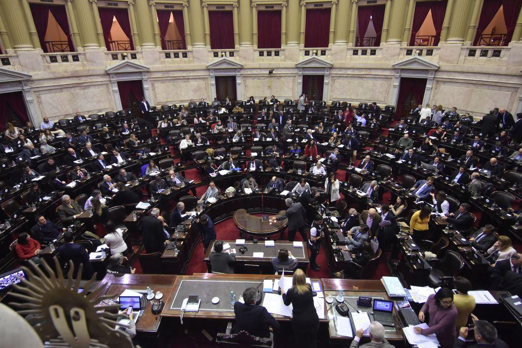 Diputados debaten el proyecto de despenalización del aborto. <strong>Foto:</strong> Archivo El Litoral