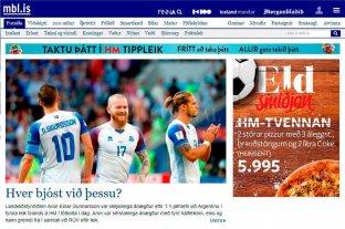 Así titulan los medios de Islandia tras el empate con Argentina