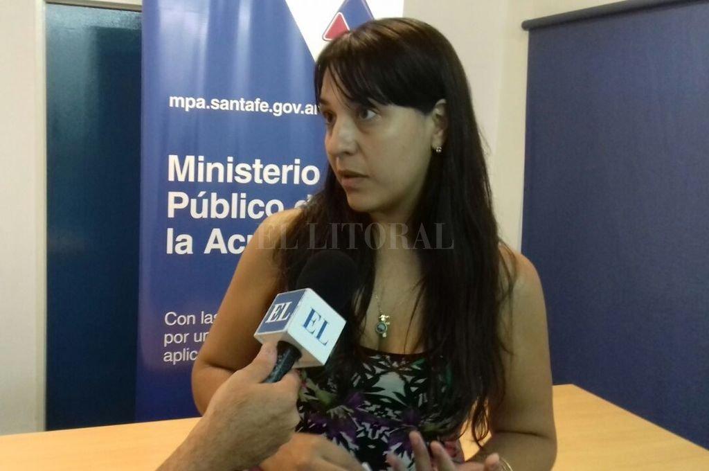 La fiscal del caso, Alejandra Del Río Ayala, adelantó que solicitará la prisión preventiva de ambos. Crédito: El Litoral/archivo