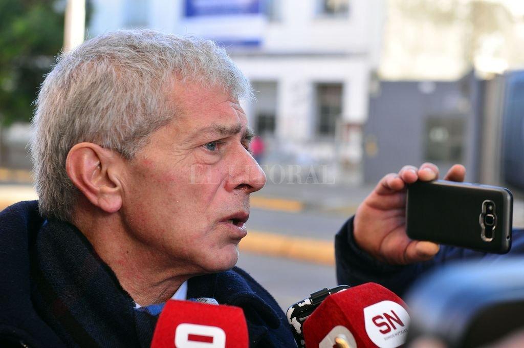 El mediático abogado porteño Mariano Cúneo Libarona fue sumado al equipo defensor del intendente Varisco. Crédito: Gustavo Cabral