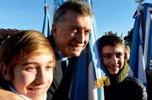Macri confirmó su presencia en el acto por el Día de la Bandera