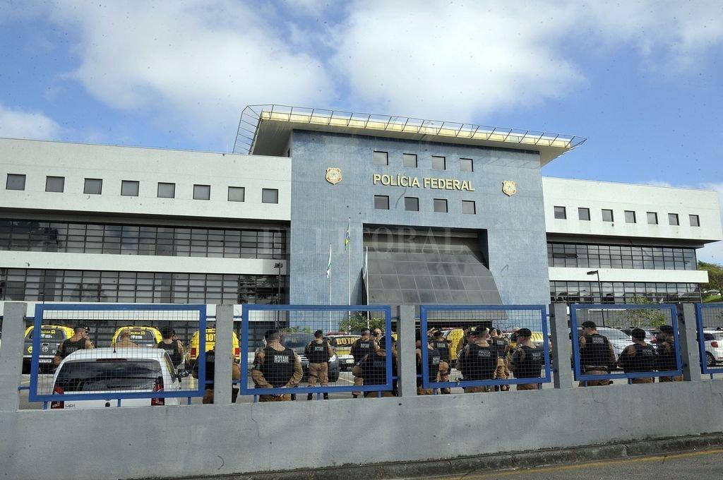 Superintendecia de la Policía en Curitiba, Brasil, en donde se encuentra la celda que le fue asignada al ex presidente brasileño Luiz Inácio Lula de Silva. Crédito: DPA