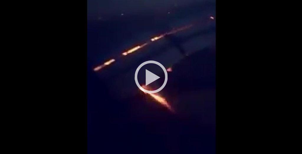 Se registra un incendio en avión de equipo nacional de Arabia Saudí