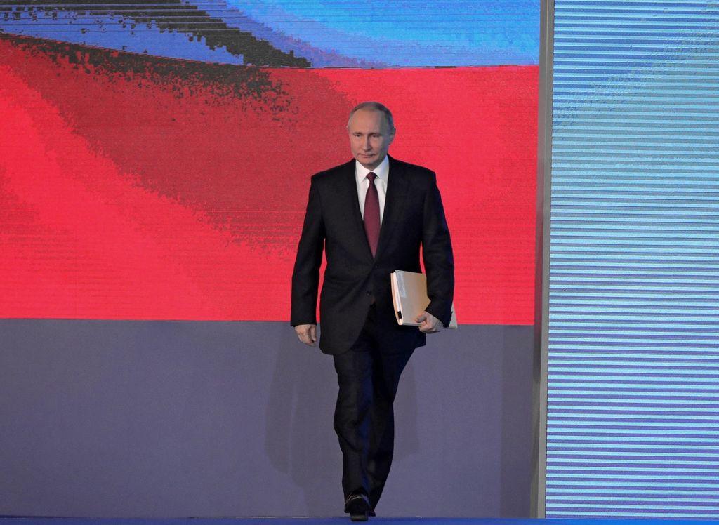 Vladimir Putin. <strong>Foto:</strong> Archivo El Litoral