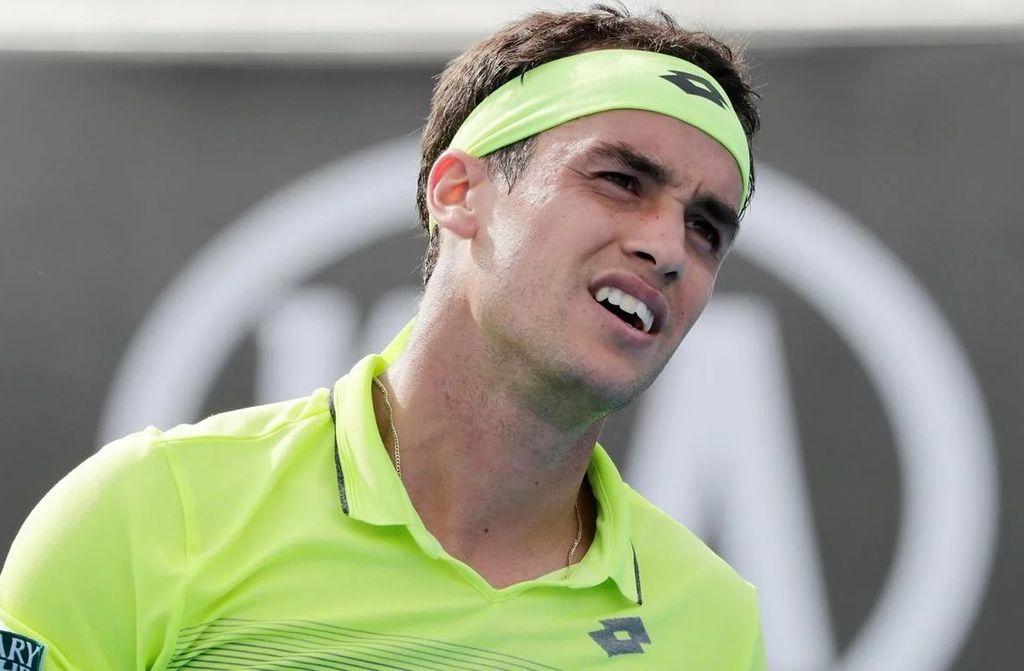 El tenista argentino Nicolás Kicker, actualmente ubicado en el puesto 100 del ranking mundial de la ATP. <strong>Foto:</strong> Todo Noticias (TN)