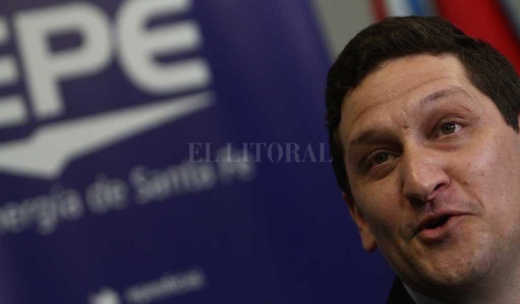 Maximiliano Neri, presidente de la EPE <strong>Foto:</strong> Pablo Aguirre