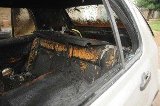 Un clásico: quemaron un auto durante la madrugada