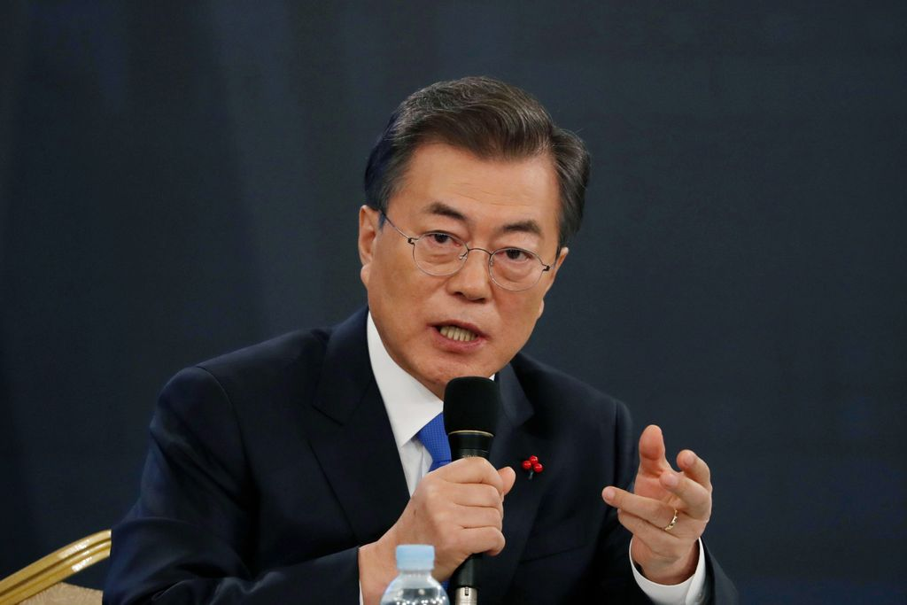 El presidente sucoreano, Moon Jae-in, pidió este miércoles a Corea del Norte pasos concretos hacia el desarme nuclear. <strong>Foto:</strong> Internet
