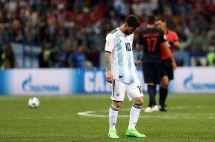 Papelón de la Selección Argentina que fue goleada por Croacia