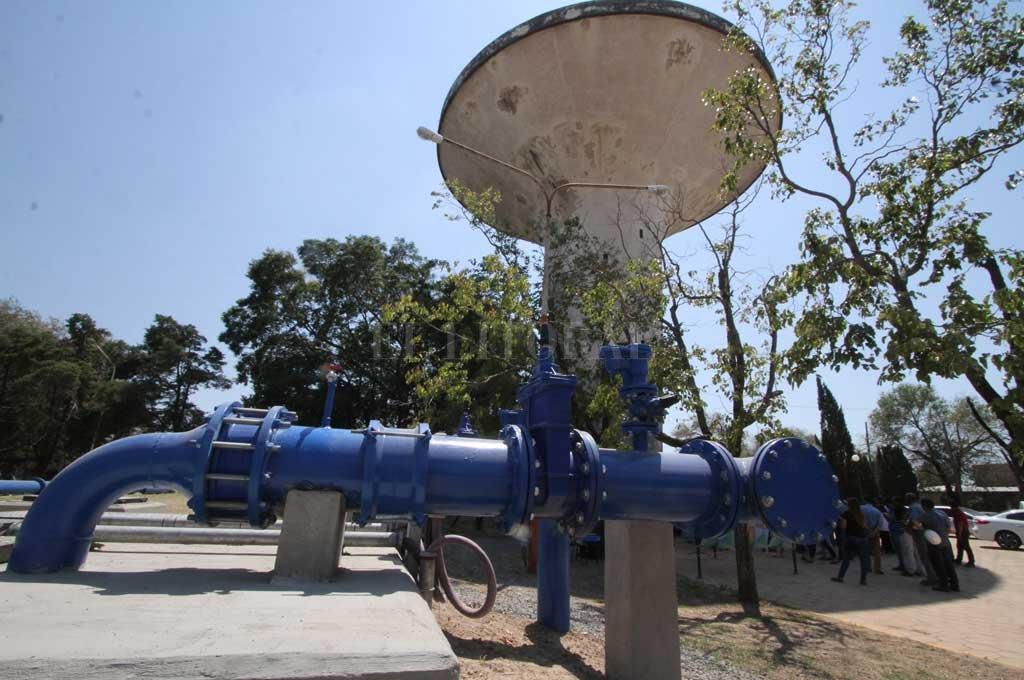 Inauguración. El servicio de agua potable proveniente del sistema del Acueducto Desvío Arijón Norte I fue habilitado oficialmente en febrero pasado. Crédito: Archivo El Litoral