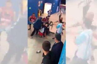 Video: el papelón de Argentina, también en las tribunas