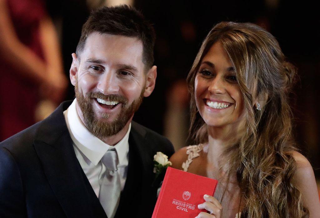 La pareja  contrajo matrimonio el año pasado en Rosario, una boda que acaparó las miradas de todo el país y el mundo. Crédito: Internet