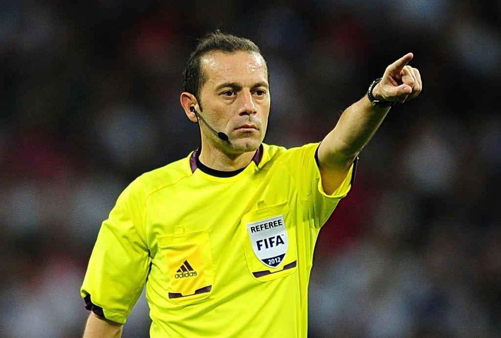 El turco Caneyt Cakir será el árbitro del partido entre Argentina y Nigeria. <strong>Foto:</strong> Internet