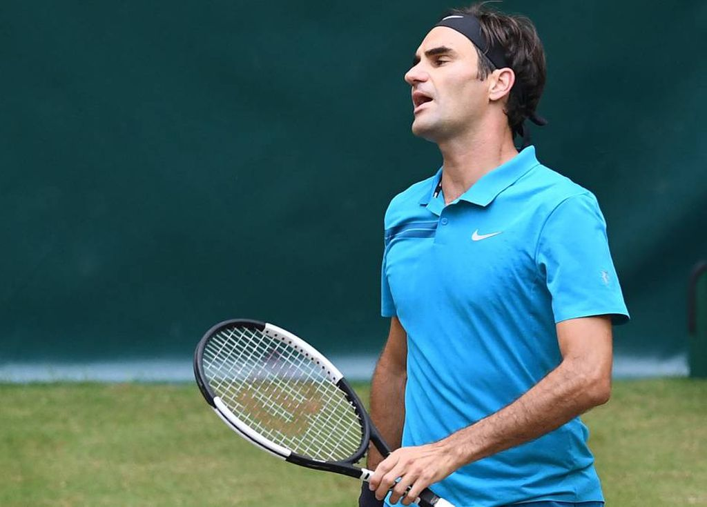 Federer no pudo alcanzar su décimo título en Halle y cedió el número uno del mundo a Rafael Nadal. <strong>Foto:</strong> Internet