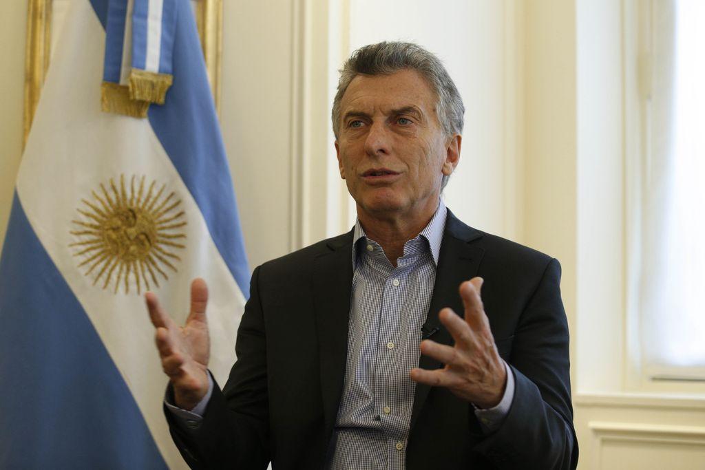 Mauricio Macri. Crédito: Archivo El Litoral
