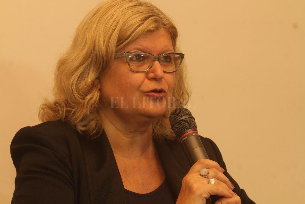 La ministro de Educación de Santa Fe, Claudia Balagué. Crédito: Archivo El Litoral