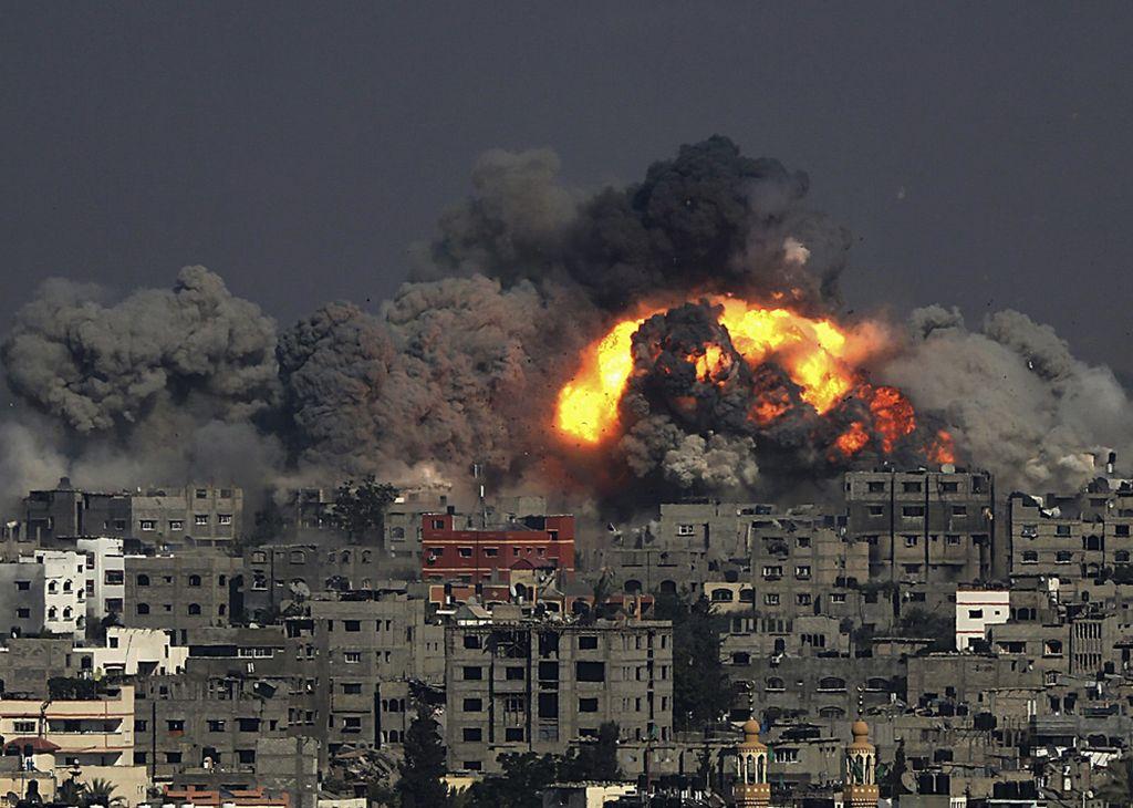 Israel bombardea a la Franja de Gaza. <strong>Foto:</strong> Internet