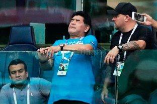 """Maradona: """"Sufrí una descompensación"""" pero """"estoy bien"""""""
