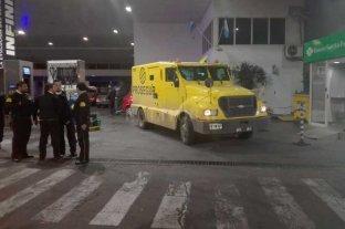 Balearon un camión de caudales en Rosario