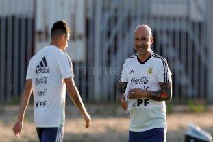 Argentina volvió a entrenar pensando en Francia