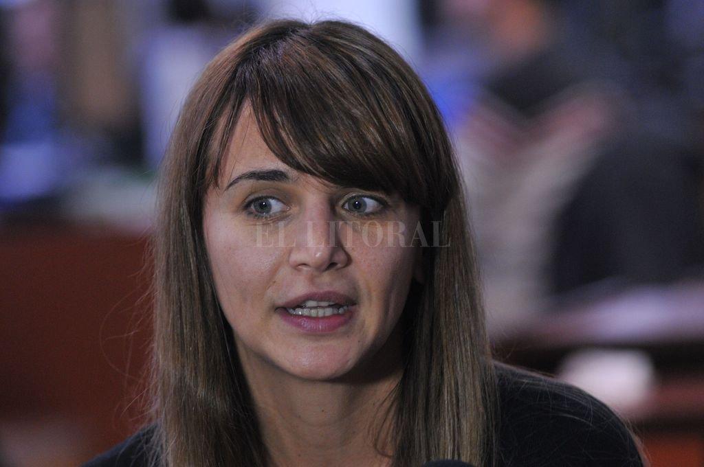 En agosto del 2017, Amalia Granata visitó el diario El Litoral para hablar sobre su candidatura a diputada nacional. <strong>Foto:</strong> El Litoral