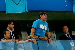 Maradona ofrece recompensa para dar con el autor del audio que anunciaba su muerte
