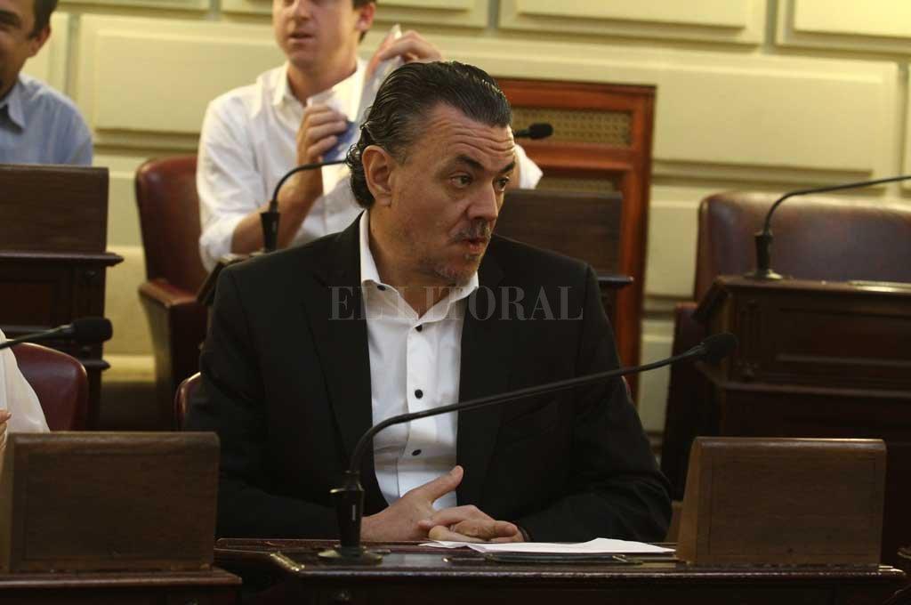 Galassi, jefe de la bancada socialista, es autor del proyecto que por segunda vez vota la Cámara Joven. <strong>Foto:</strong> El Litoral
