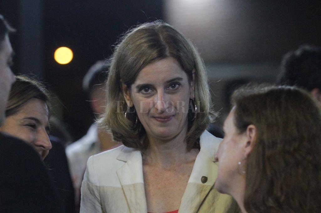 La ministra Érica Hynes. <strong>Foto:</strong> Archivo El Litoral
